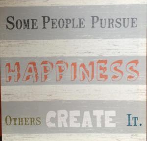 Heidi's happiness mantra