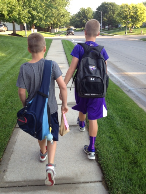 Ready to conquer the world...starting with grade school