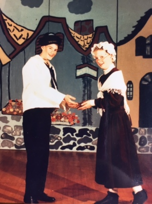 I received a Tony nod back in 1989 with my vivid portrayal of Jack's mom - struggling to keep him off the beanstalk and in my arms.
