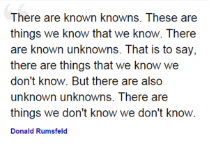 unknown unknowns quote