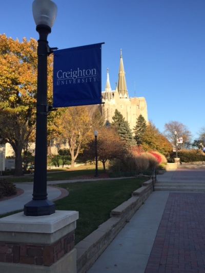 Creighton University: Hard to articulate the impact of this place on my life.