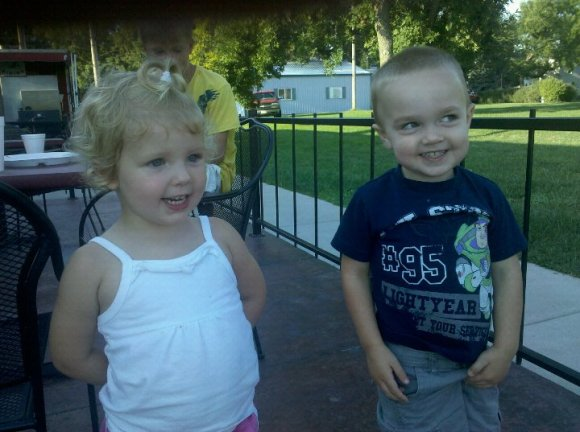 Parker and Jaycee 1