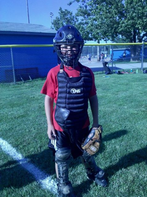 Austin baseball catcher