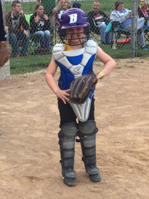 Jaycee softball catcher
